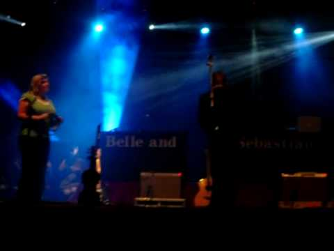 Belle and Sebastian - I didn`t see it coming live at Arezzo (25/07/2010)