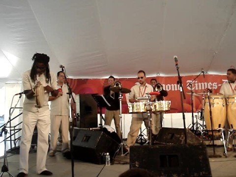 Richmond Folk Festival - Plena Libre 1