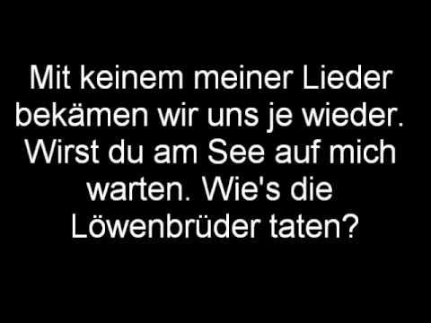 Pohlmann - F�r Dich. [Lyrics]