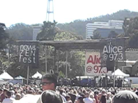 Natasha Bedingfield LIVE in San Francisco 09/26 - Pocketful of Sunshine (Alice Now & Zen Fest 2010)