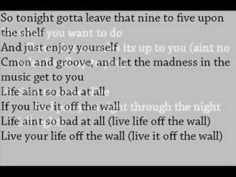 MICHAEL JACKSON- OFF THE WALL WITH LYRICS + PICS