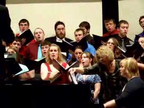 "Culver-Stockton College Choir ""Erev Shel Shoshanim"""