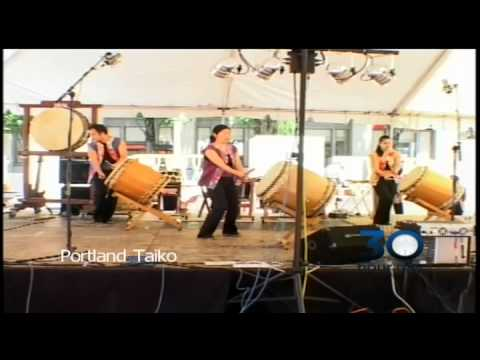 Portland Taiko at 30 Hour Day