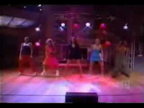 Spice Girls Wannabe at Live with Regis & Kelly Show