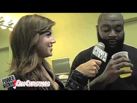 Luscious Liz with Rick Ross