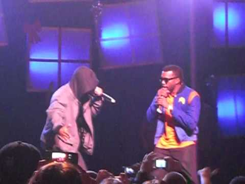 "Kanye Came Out For ""Swagger Like Us"" For TI`s Performance at Power 106`s Cali Christmas"