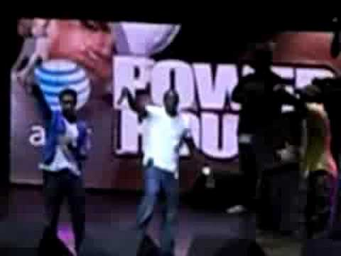 Colby O Donis and Akon at Powerhouse 2008