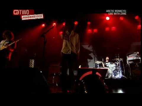 Arctic Monkeys - Pretty Visitors (Live with Zane)