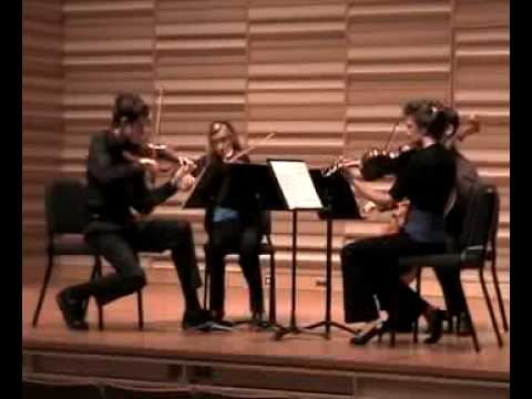 Bartok`s Quartet No 2, 3rd movement