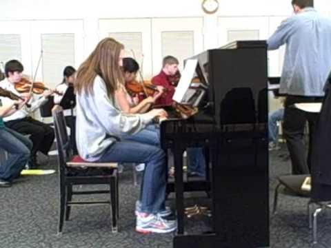 Maud with Preucil orchestra