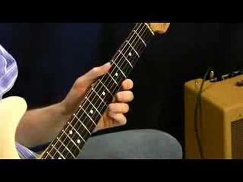 Shuffle Blues Solo 1 - Advanced