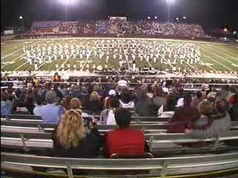 "2007 University of North Alabama ""Pride of Dixie"" Marching Band- ""La Fiesta"""