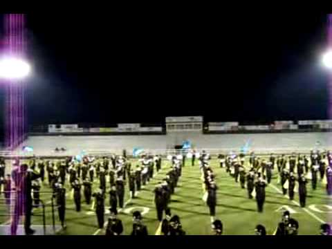 Bentonville High School Tiger Pride marching band- 2008 show