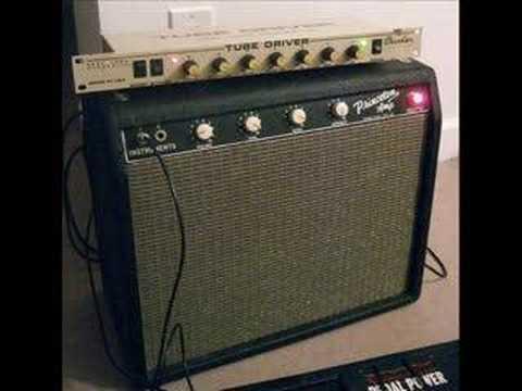1964 Fender Princeton Amp - BK Butler Tube Driver Demo