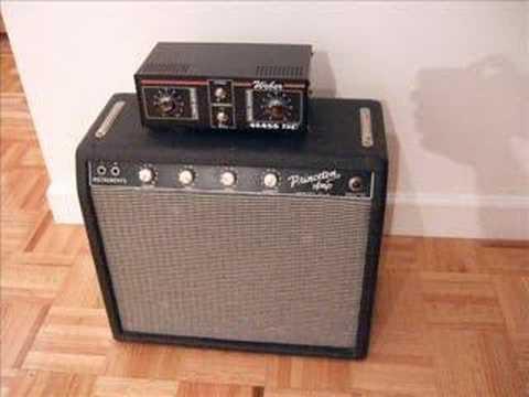 1964 Fender Princeton Amp - Weber Mass 150 Attenuator Demo