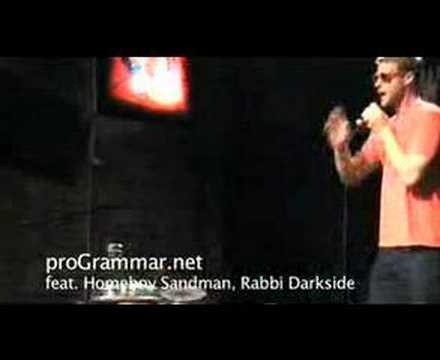 proGrammar 6/01/08 A feat. Homeboy Sandman, Rabbi Darkside