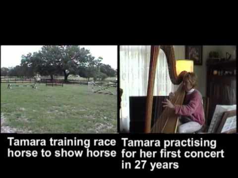 Tamara Stafford harpist/equine trainer