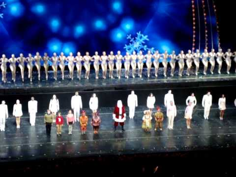 christmas spectacular end (radio city rockettes)