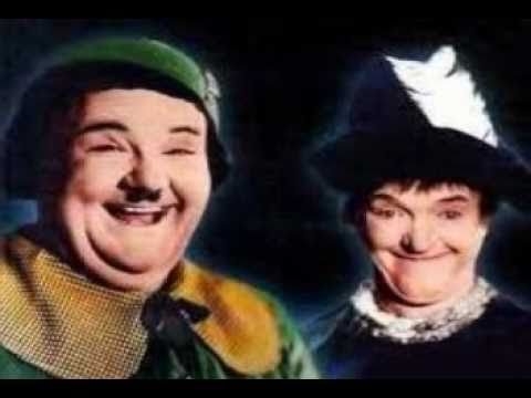 March of the Wooden Soldiers~Laurel & Hardy~ Radio City Rockettes