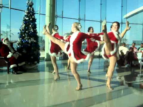 Hurrah Players Red Kickline (Rockettes)