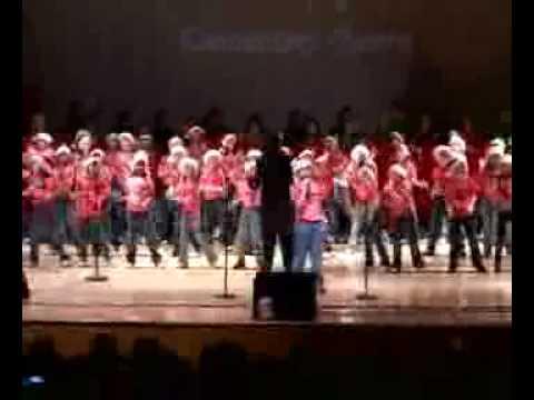 "The Boynton Elementary Chorus singing ""Amen"" arranged and directed by Sheri Thrower"