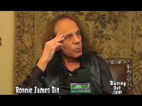 Ronnie James Dio talks to Eric Blair part 4