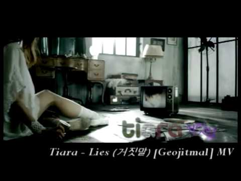 [HQ] Tiara/T-ara - Lies (???) [Geojitmal] MV Official Full Ver. (Subbed Eng & Rom.) w/ DL