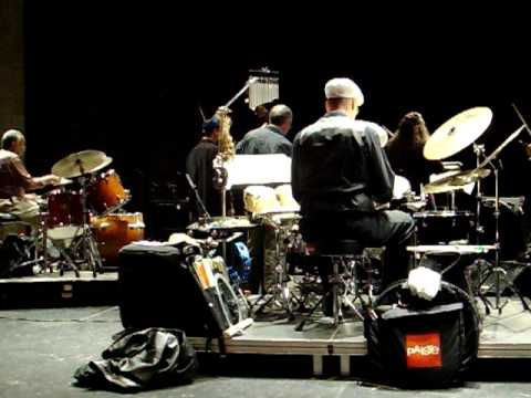 David Stanoch & Clyde Stubblefield Double-Drumming (3 of 4)