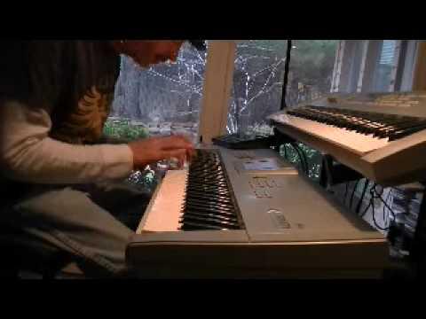 my KORG keyboard guitar tribute to Jeff Beck