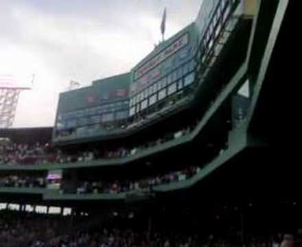 Bob Weir and RatDog sing the Nat`l Anthem at Fenway Park