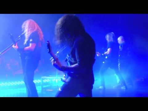 MEGADETH RATTLEHEAD with Kerry King, shot from stage, live 2010