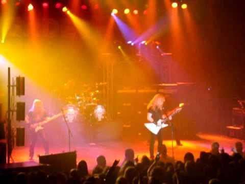 Megadeth - Rattlehead LIVE - Thebarton Theatre, Adelaide 11/10/2009