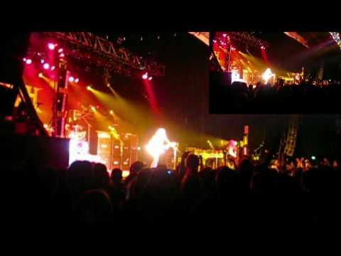 MEGADETH Rattlehead (Live Sydney 2009)