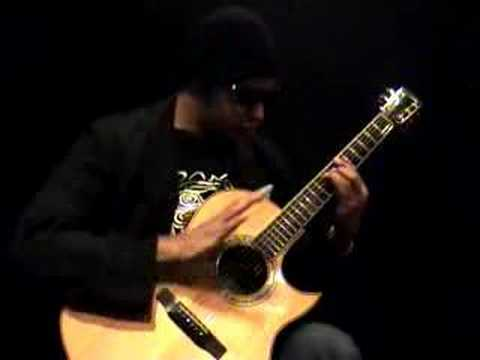 Raul Midon guitar lesson