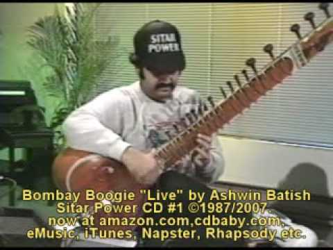 Amazing sitar raga rock fusion by Ashwin Batish