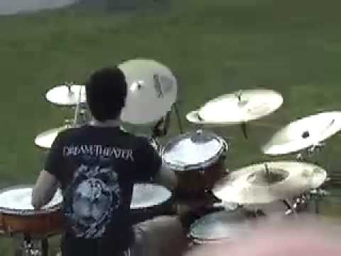 "Crappy Drummer ""Outside Drumming"" (part1)"