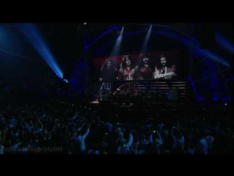 Metallica - Iron Man w/ Ozzy Osbourne [Live Rock & Roll Hall of Fame New York October 30, 2009] HD
