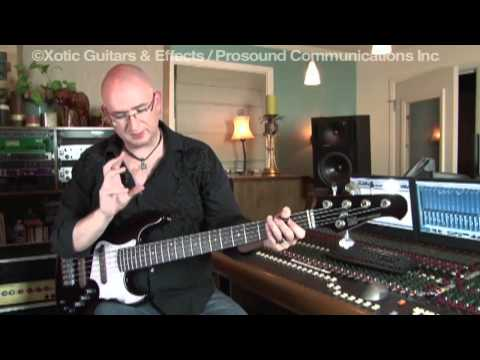 Sean O`Bryan Smith with Xotic Effects Robotalk 2 & Bass RC Booster