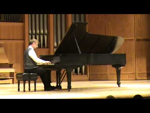 Read Gainsford in Concert: Read Gainsford performs the Liszt B minor Sonata (Part III)
