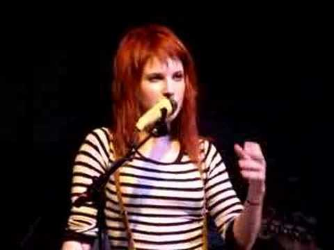 Paramore - Hayley Talking/Faces in Disguise Cover