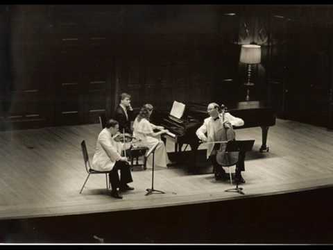 Saint-Saens Trio No. 1 in F Major, IV. Allegro (by New Arts Trio)