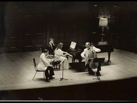 Saint-Saens Trio No. 1 in F Major, I. Allegro vivace (by New Arts Trio)