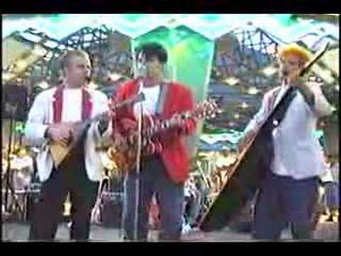RED ELVISES BALALAIKA SLIDE 1995