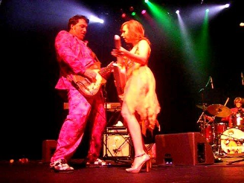 A Smashing Performance By The Red Elvises Elena Shemankova