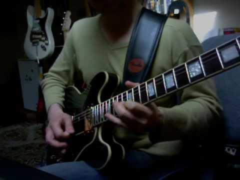 Freddie King Style (breaking in my Epiphone Lucile pt.3)