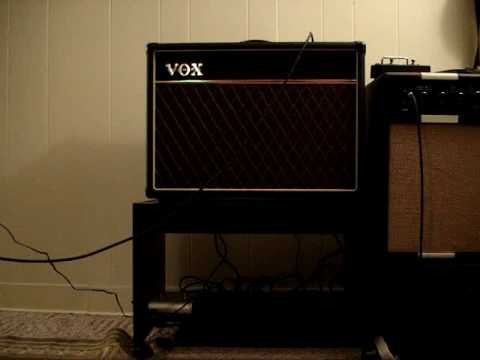 Vox AC15-Overdrive demo