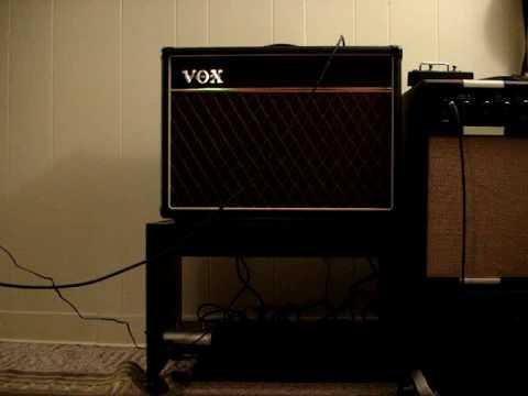 Vox AC15-Overdrive demo
