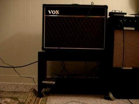 Vox AC15-clean sounds demo