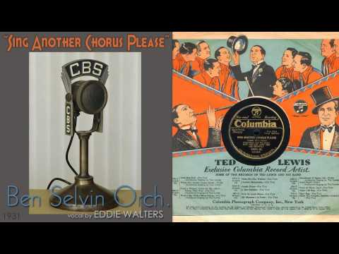 1931, Sing Another Chorus Please, Ben Selvin Orch. Hi Def 78RPM .wmv