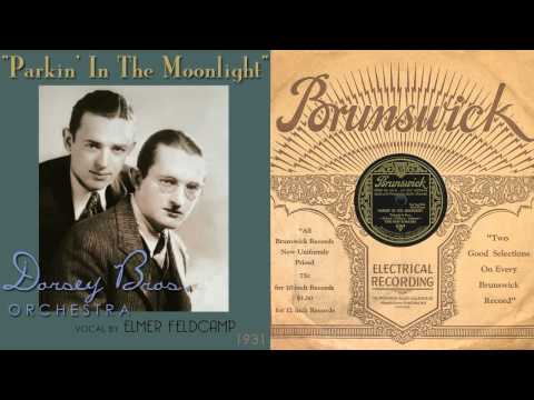 1931, Parking In The Moonlight, Dorsey Bros. Orch., Hi Def 78RPM .wmv